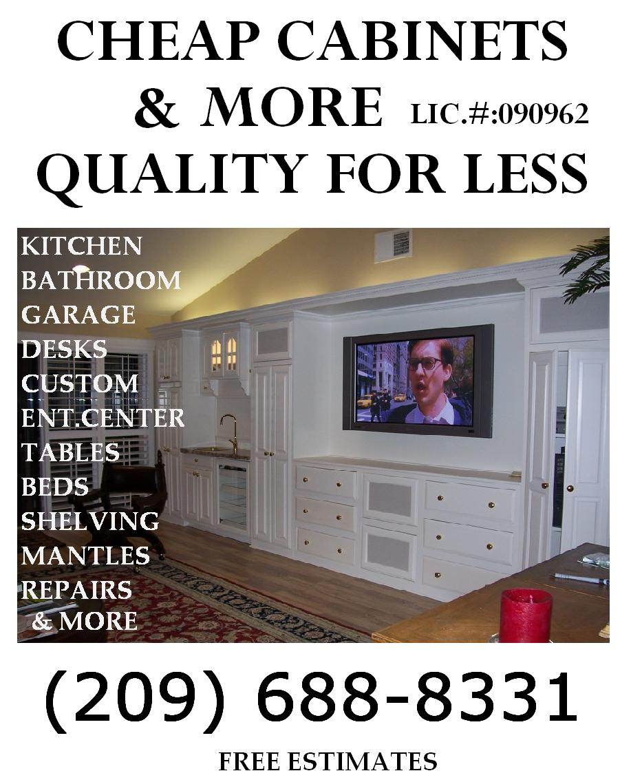 Home - Cheap Cabinets and More, Quality For Less